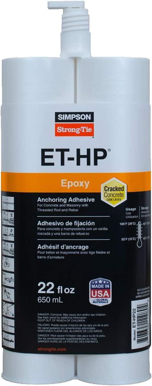 Simpson Strong-Tie ET-HP22 22oz Epoxy Anchoring Adhesive