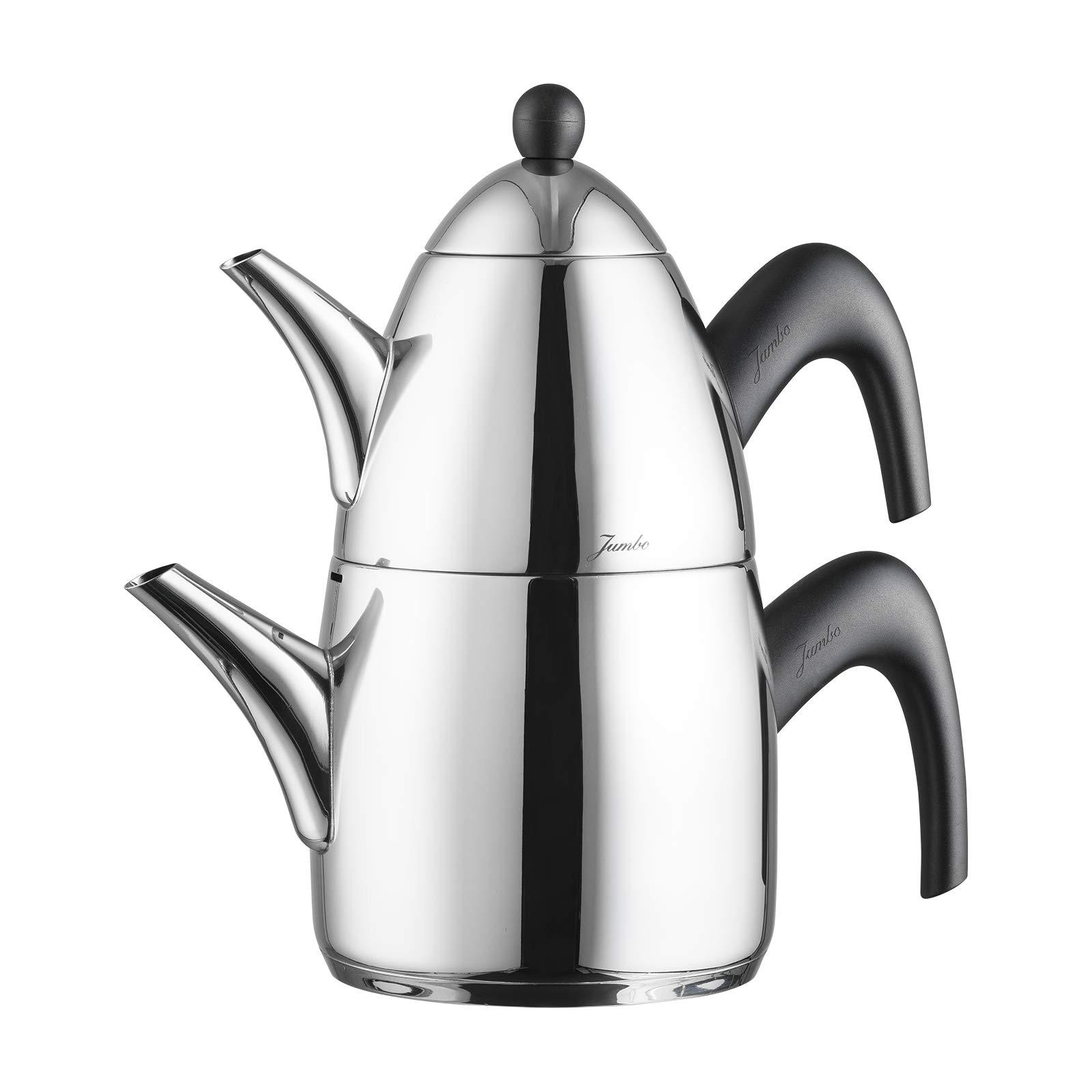 Jumbo Steel Teapot 6500 Kettle Stainless Steel
