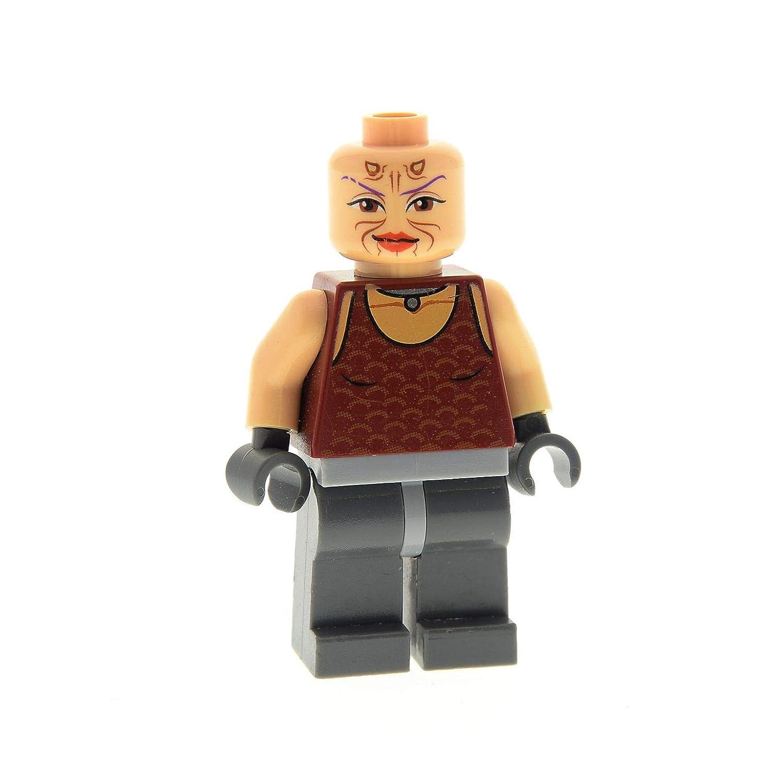 2 x Lego System Figur Torso Power Miners transparent rot dunkel grau Felsen Stei