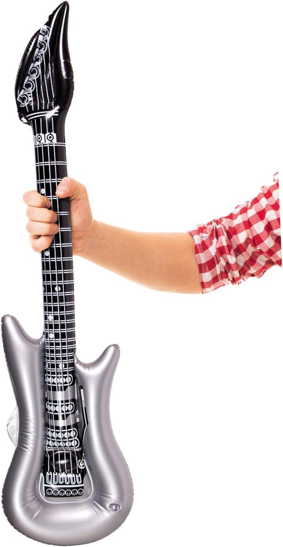 Party Collection - Guitarra Hinchable (100 cm): Amazon.es ...