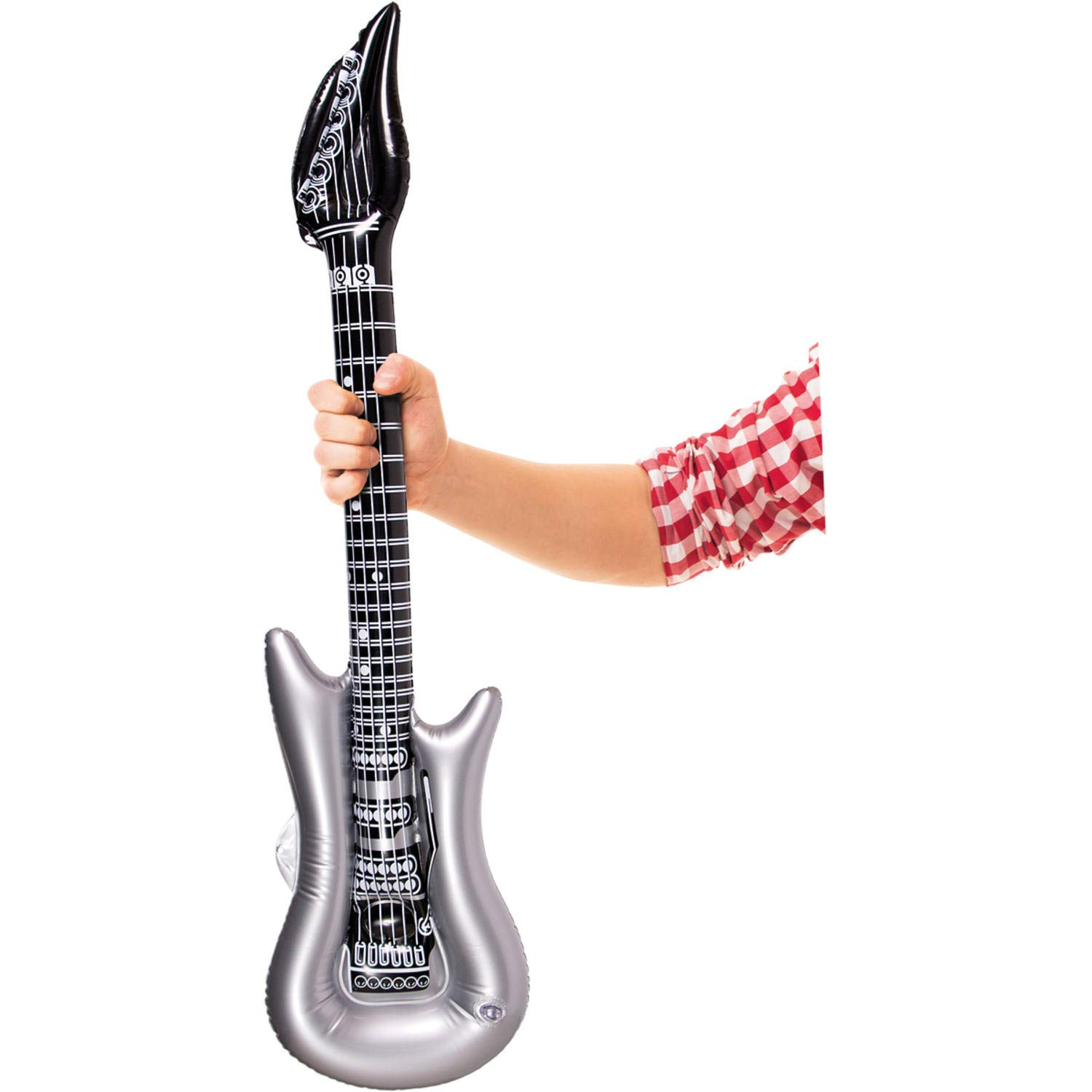 Party Collection - Guitarra Hinchable (100 cm): Amazon.es ...