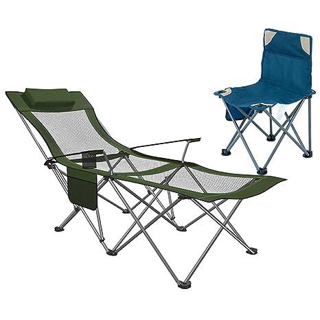Sillas Camping, Silla Plegable de Recliing para Acampar con ...