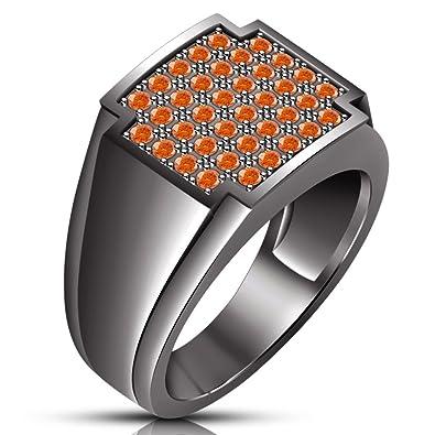 b210d0210032 Lilu Jewels - Anillo de compromiso para hombre y niño