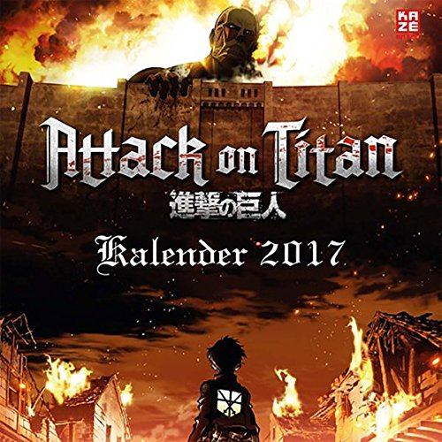 Attack on Titan - Wandkalender 2017