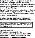 New Serra-125k Serrapeptase Enzyme 125,000 SPU