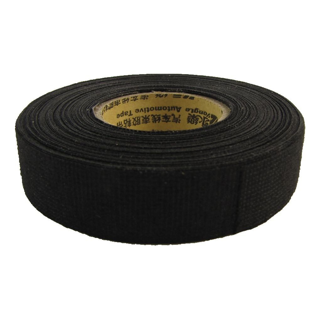 15m19mm Auto High Heat Resistant Wiring Insulation Cloth Insulating Ford Harness Tape New