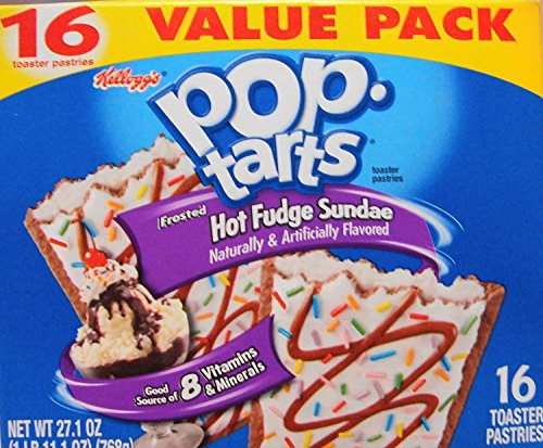 Pop Tarts Frosted Hot Fudge Sundae Pastries 16 Count