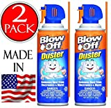 Blow Off General Purpose compressed Air Duster Cleaner, MB-111-229 (3.5 oz) 2-pack