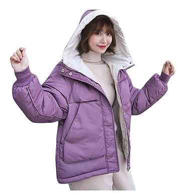 Abrigo de Mujer Abrigo de Invierno 2019 Capucha Piel Chaqueta ...