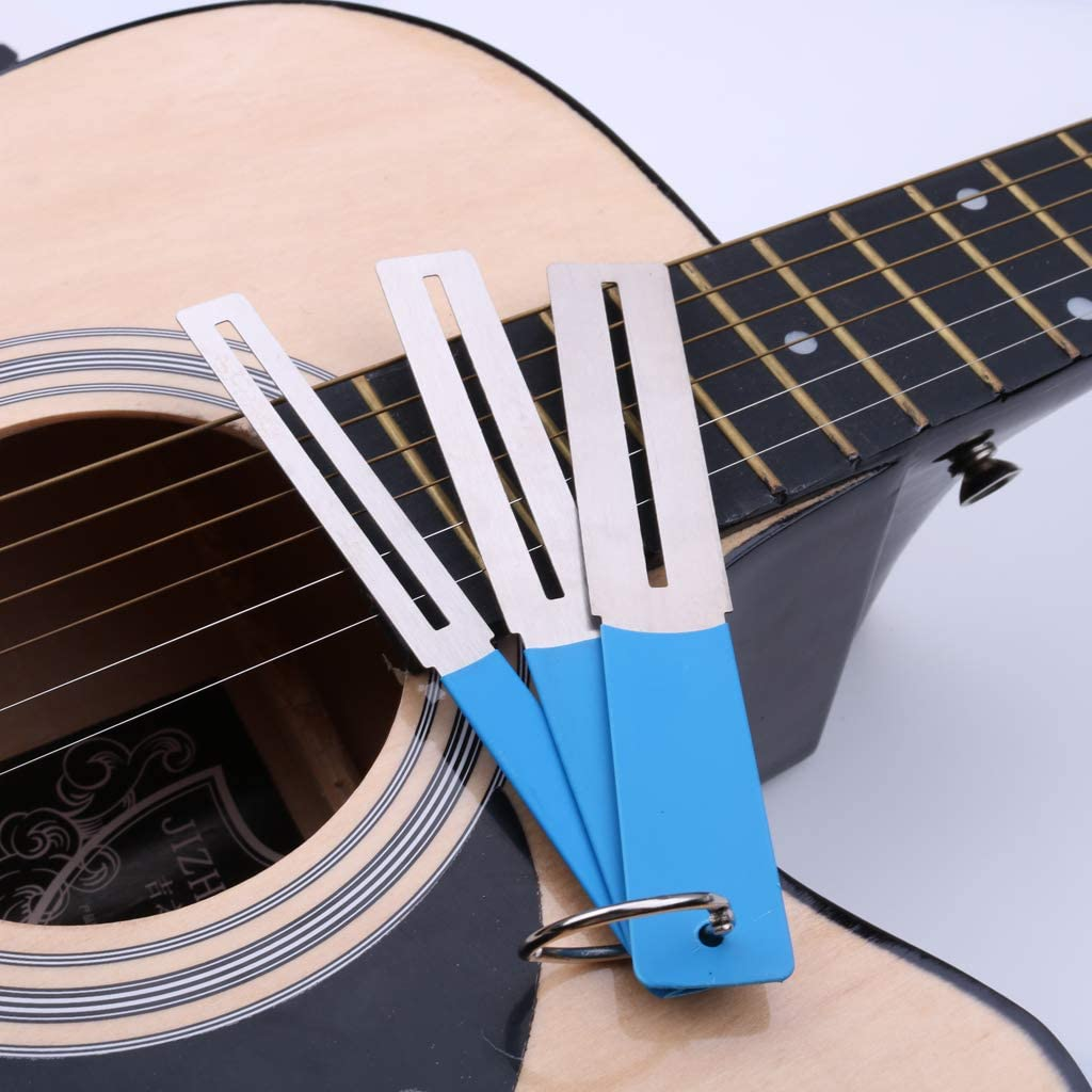 SDENSHI 3pcs Blue Guitar Fingerboard Fret Guard Protector For Luthiers DIY Supplies