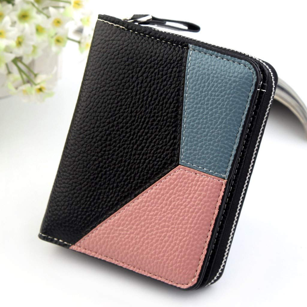 Amazon.com: vermers Womens Zip Around Wallet Vintage Fashion ...