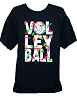 Volleyball Splatter T-Shirt (Size=Adult-Large)