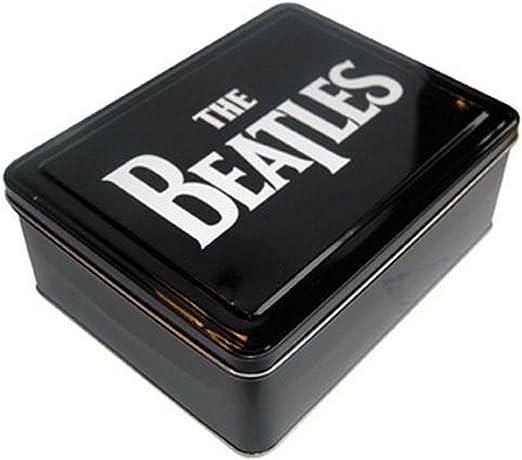Caja de metal pequeña, diseño de Los Beatles: Amazon.es: Hogar