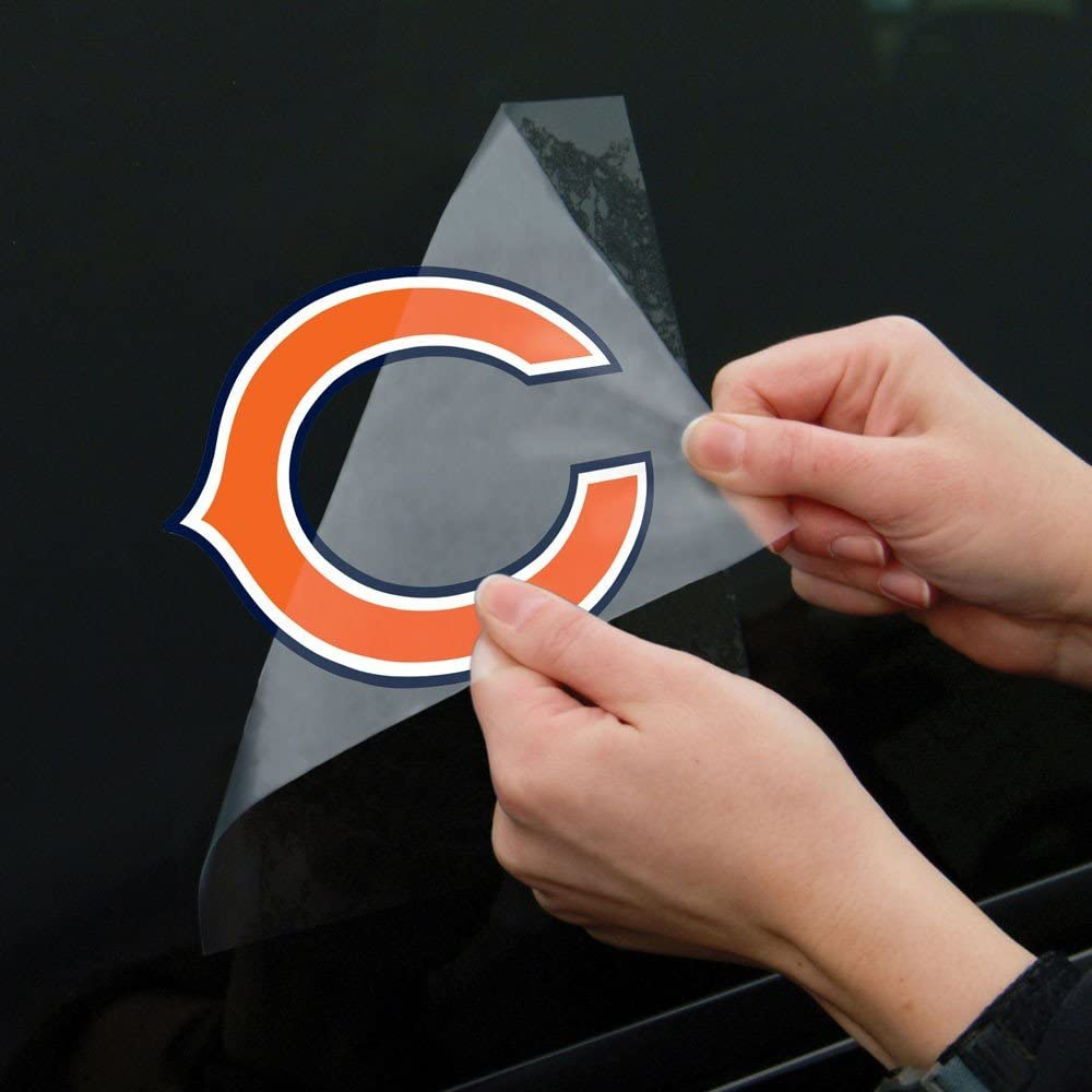 Wincraft Chicago Bears Perfect Cut Color Decal 8 x 8 New Wall Decal NFL