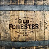 """Wood Wall Art Photography - Bourbon Themed Decor: Old Forester Barrels 11""""x11"""""""
