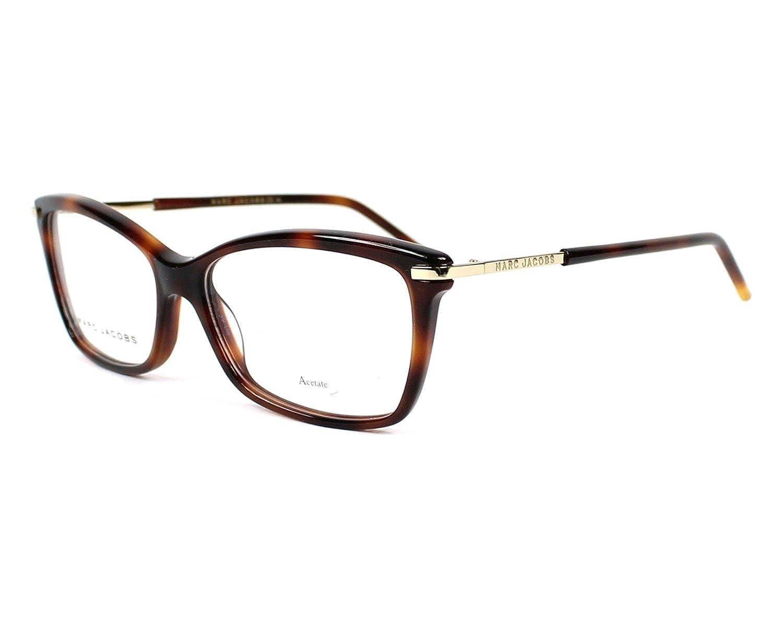 8ba3a3b621c7 Original New Marc Jacobs MJ Marc 63 05L Havana Brown Frame Round Eyeglasses  54: Amazon.ca: Clothing & Accessories