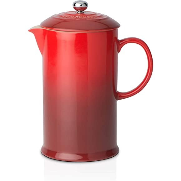 Le Creuset Stoneware Cafetiere Cerise Red