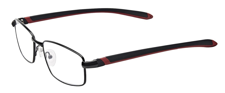ef4cccf29c Amazon.com  Sportex Readers Anti-Reflective Reading Glasses Full Metal  Frame