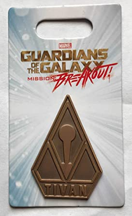 Marvel Pin 126502 Dca Guardians Of The Galaxy Mission Breakout Tivan Collection Logo Pin Disney Pin At Amazon S Entertainment Collectibles Store