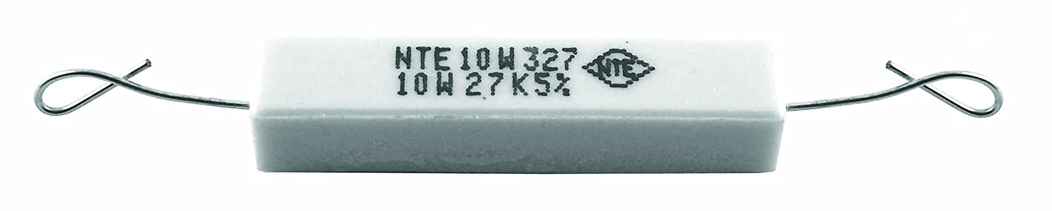 550V 3.9 Ohm Resistance Inc. NTE Electronics 10W3D9 Resistor Axial Leaded Wire Wound 10W Pack of 2 5/% Tolerance