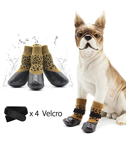 Amazon.com  loveone Waterproof Pets Socks ac22825eb64a