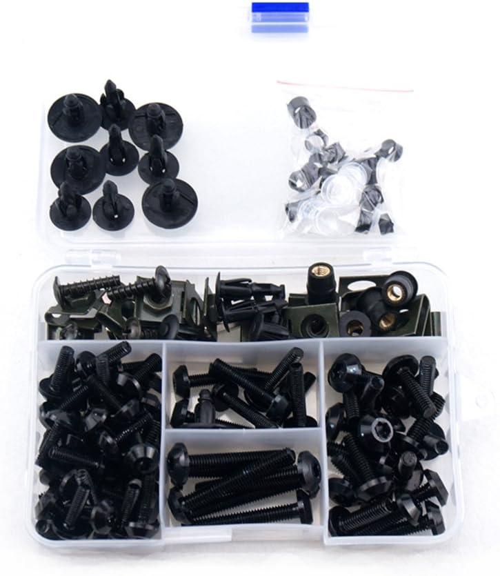 Complete Alloy Motorcycle Body Fairing Bolt Kit Body Screws For Kawasaki Ninja 300 2013-2015