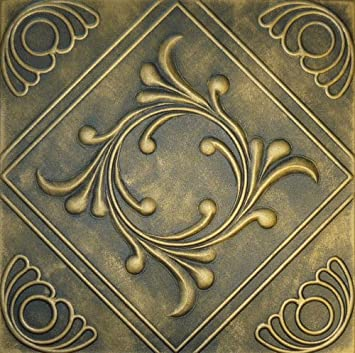cheap decorative ceiling tile r2 black brass styrofoam hand - Decorative Ceiling Tiles