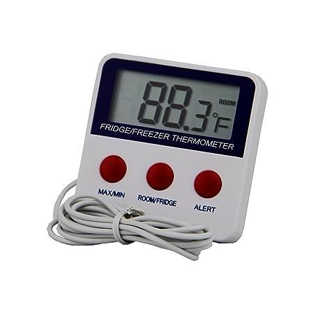 TopSun Digital Electrónico Congelador Frigorífico Termómetro con ...