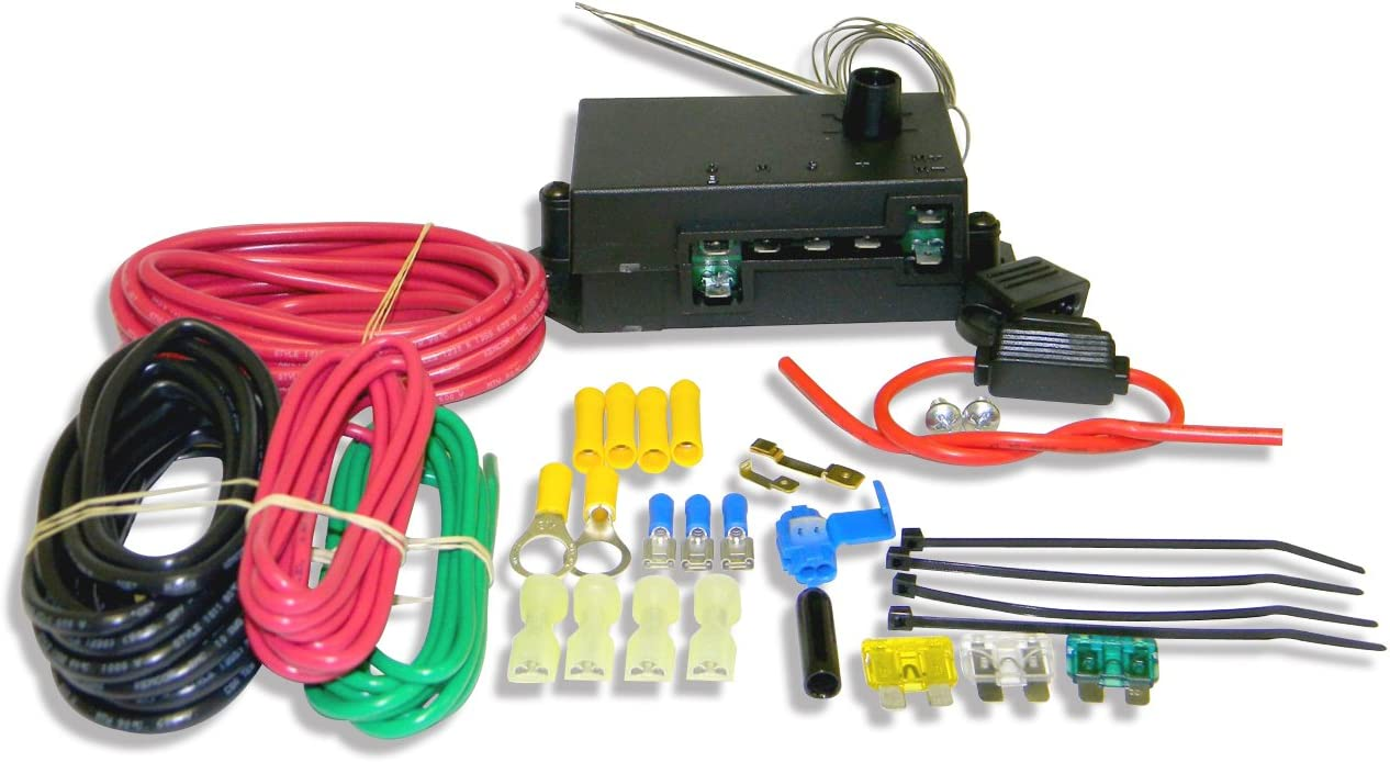 Flex-a-lite 31163 Variable Speed Control Module with Threaded Temperature Sensor