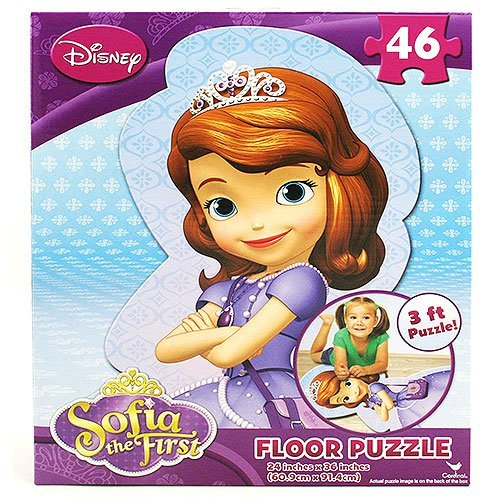 (Disney Princess Sofia the First 46 Piece Shaped Floor Puzzle)