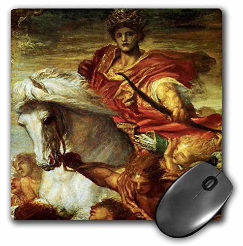 3dRose BLN Horses Fine Art Collection - The Four Horsemen of the Apocalypse by George Frederick Watts - MousePad (mp_129854_1)