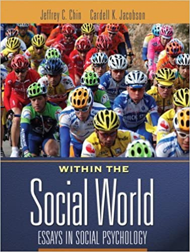 Book Within the Social World: Essays in Social Psychology by Jeffrey Chin (2008-06-06)