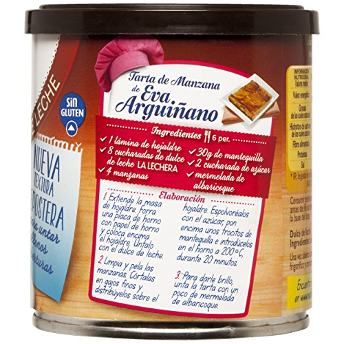 Nestlé La Lechera Dulce de leche, Leche condensada - Lata de leche condensada abre fácil - Caja de 12 x 397 g: Amazon.es: Alimentación y bebidas