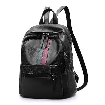 001b2574f6 RFVBNM Zaino donna Moda Borse causali Zaino donna alta qualità borsa a tracolla  donna PU moda