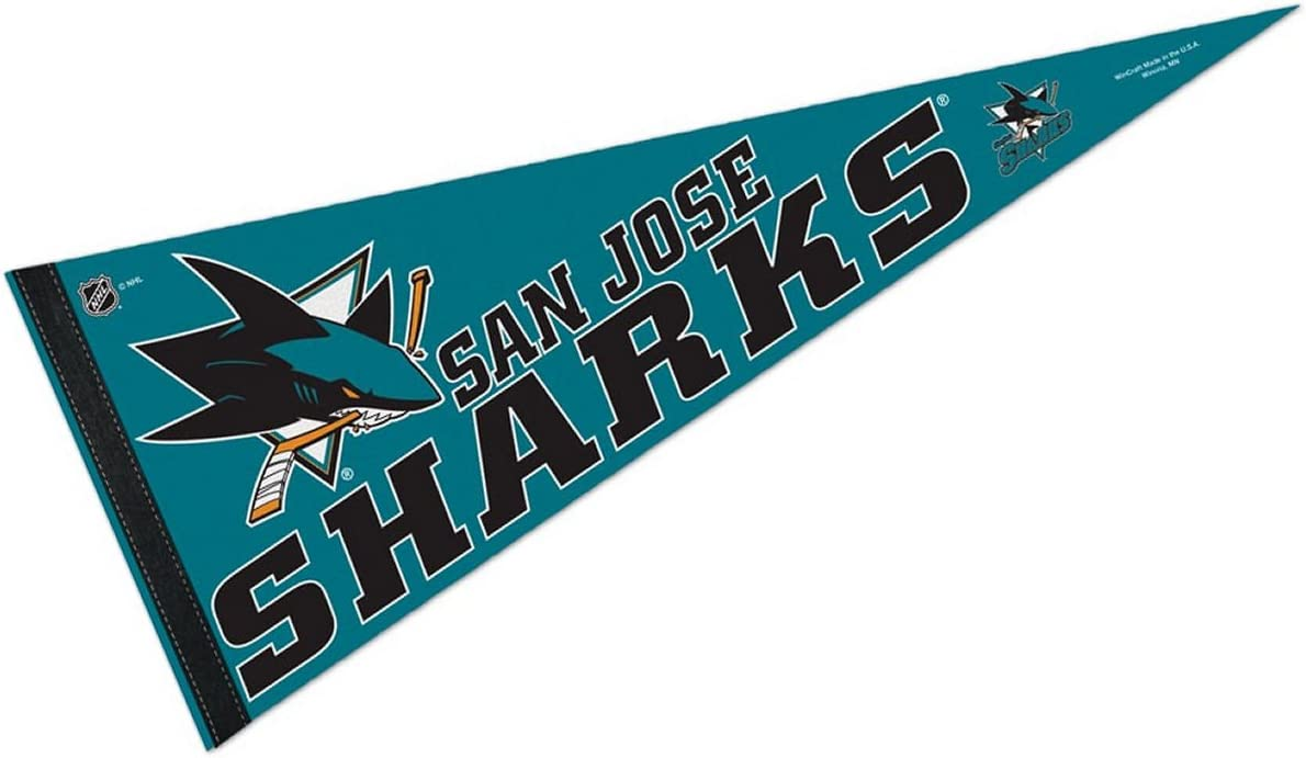 WinCraft San Jose Sharks Pennant and 12 X 30 Banner