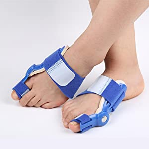 FanProd Bunion Bunion Splint, Big Toe Straightener, Hammertoe, Corrector Brace Pad, Hallux Valgus, Bunion Night Support For Men & Women