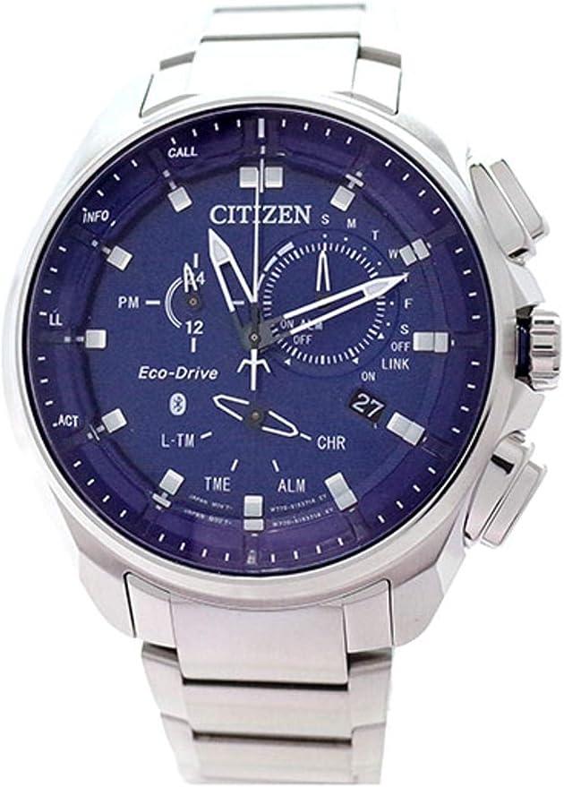 逆輸入 CITIZEN Bluetooth BZ1021-54L シチズン メンズ ウォッチ エコドライブ クロノグラフ ブルートゥース 腕時計 [並行輸入品]