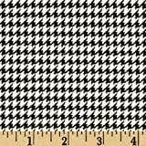 Amazon Com Premier Prints Large Houndstooth Black Black