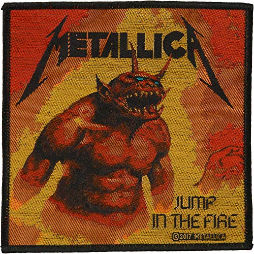 Metallica Standard Patch: Jump In The Fire (loose) (Metallica Jump In The Fire T Shirt)