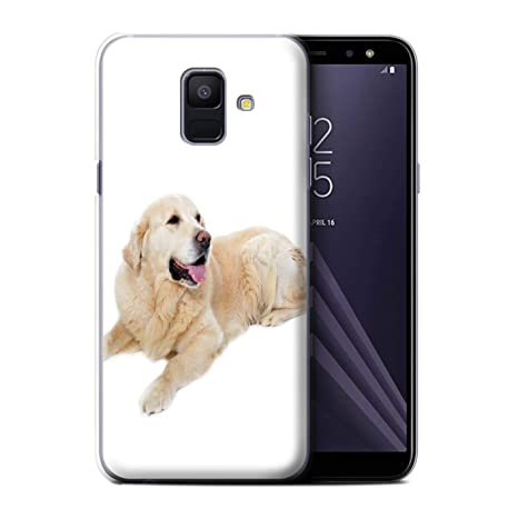 Stuff4 Coque de Coque pour Samsung Galaxy A6 (2018) / Labrador