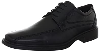 ECCO New Jersey Lace Up Men US 9 Black Oxford