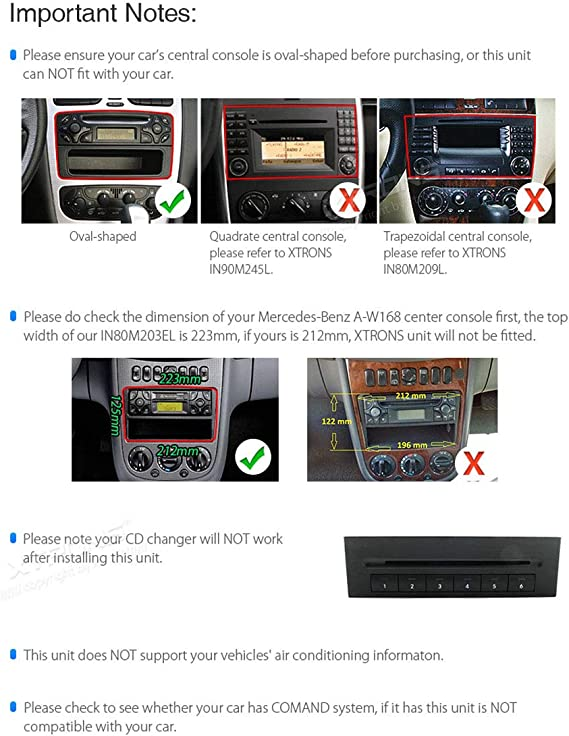 Amazon Com Xtrons Android 10 0 Car Stereo Radio Gps Navigation 8 Inch Touch Screen Slim Design Head Unit Supports Wifi Bluetooth Backup Camera Dvr Obd2 Tpms For Mercedes Benz C Class W203 G W463 Clk