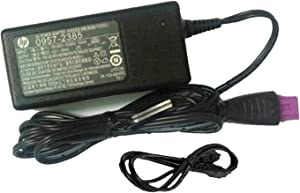 UpBright New Global Genuine OEM Original 22V 455MA AC/DC Adapter for HP Deskjet 2543 Printer (2385) 0957-2385 Power Supply Cord Cable PS Battery Charger Mains PSU