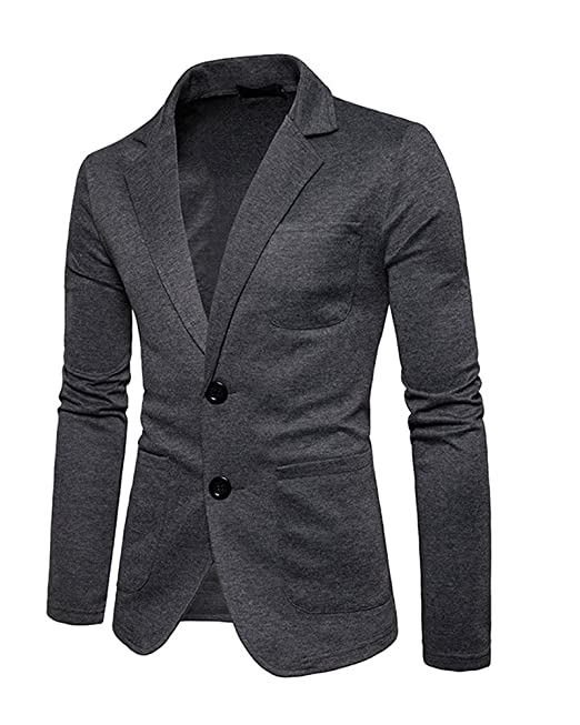 abbigliamento casual uomo cappotto grigio costume nero