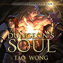 A Dungeon's Soul:  Adventures on Brad, Book 3 Audiobook by Tao Wong Narrated by Eric Martin