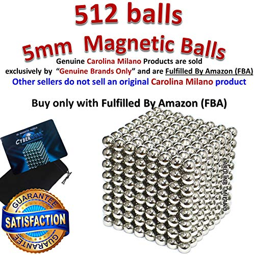 512 pieces Large 5mm Magnetic Balls Building Blocks Sculpture Magnets Educational game Office Magnet Toy Intelligence Development Stress Relief Imagination gift family (set of 216pcs x2 + 80 balls)