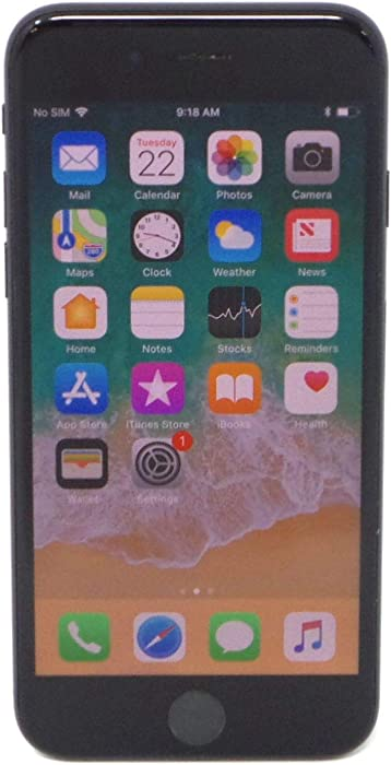 Apple iPhone 7, 128GB, Black - For T-Mobile (Renewed)