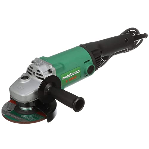 Metabo HPT G13SC2 5 Angle Grinder, 11-Amp Dust-Resistant Motor, Trigger Lock-On, 10, 000 Rpm, Compact Lightweight Design, 1-Year Warranty