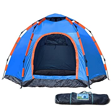 Wnnideo Instant Family 2-3 Person Tent Automatic Pop Up Tents Waterproof for Outdoor Sports  sc 1 st  Amazon.com & Amazon.com : Wnnideo Instant Family 2-3 Person Tent Automatic Pop ...