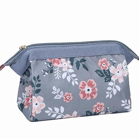 e0b31189b72e Makeup Bag Travel Cute Cosmetic Pouch Storage Brush Holder Toiletry Kit  Fashion Women and